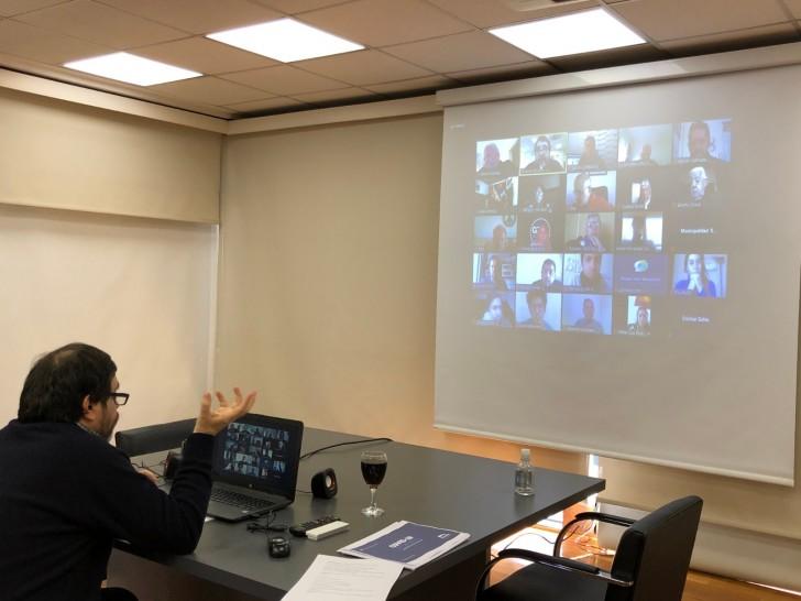 Fernando Moreira brindó una conferencia de prensa virtual