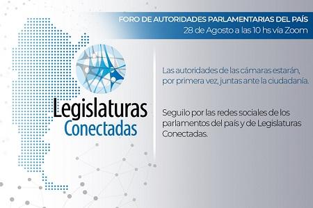 Hoy se reune el Foro Federal de Autoridades Parlamentarias del País