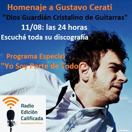 24 horas de Cerati en Radio Edición Calificada