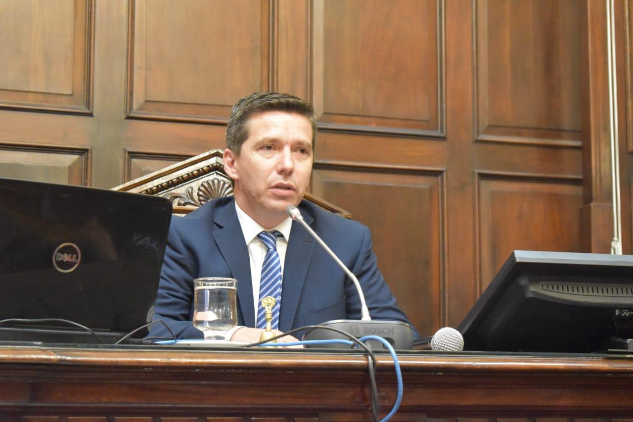 Andrés Lombardi, Presidente de la Cámara de Diputados de Mendoza