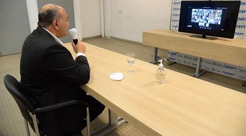 Manzur participó de la elección del nuevo Secretario General del CFI