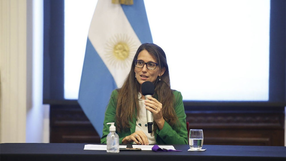 Elizabeth Gómez Alcorta, Ministra de las Mujeres, Géneros y Diversidad