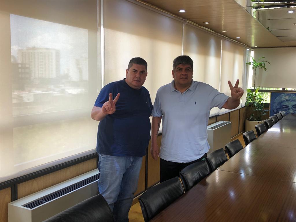 Pablo Moyano y Gabriel Ruiz