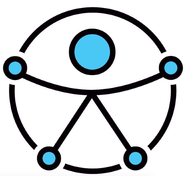 Logo de Diseño Universal, que el Estado debería garantizar para todas las personas
