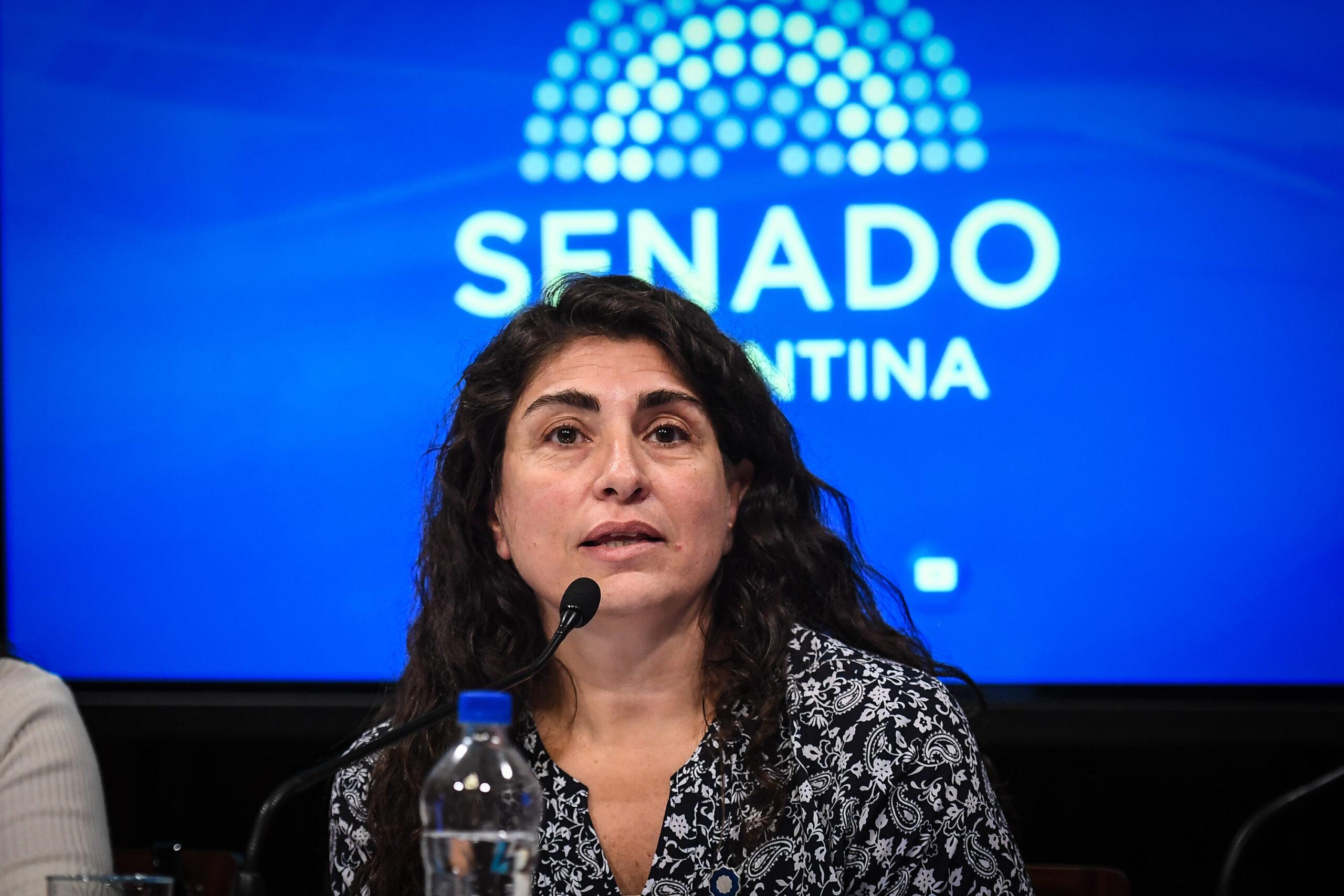Senadora nacional Ana María Ianni