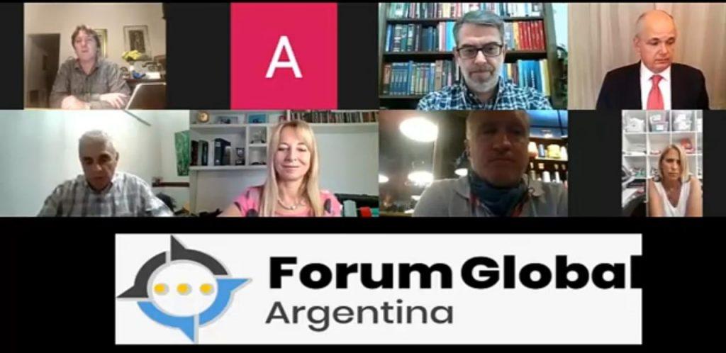 La nueva edición del Forum Global Argentina estuvo integrada por Elisabet Piacentini, Alejandro Fargosi, Víctor Fera y Gabriel Ballerini