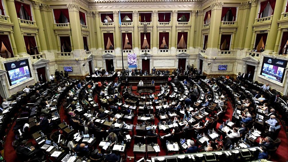 La Cámara de Diputados debatía esta tarde el proyecto de movilidad jubilatoria que el oficialismo aspira a convertir en ley.