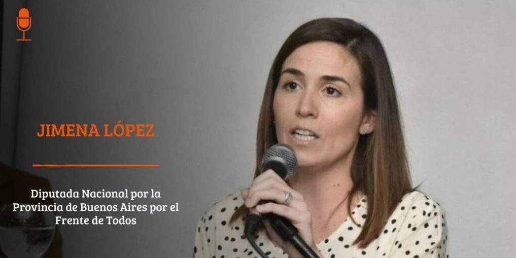 Diputada nacional Jimena López