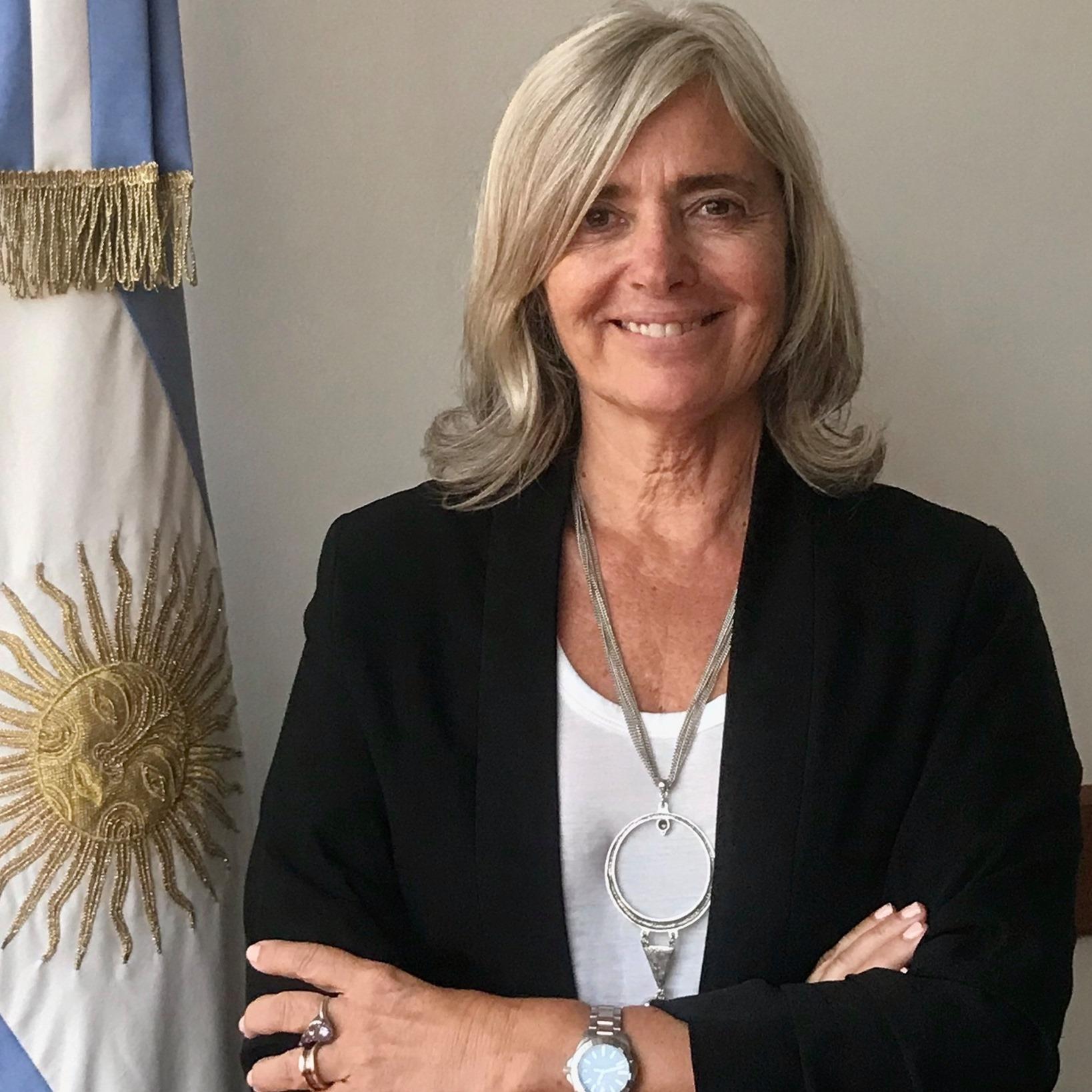 Silvia Vazquez, Fundadora y presidenta del Partido Verde la República Argentina